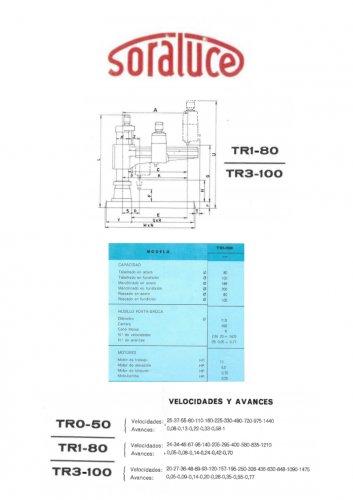 Taladro Bandera Soraluce M4042