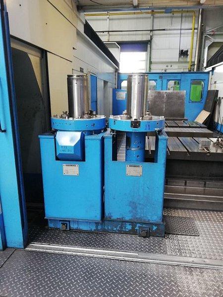 Centro de mecanizado de pórtico vertical
