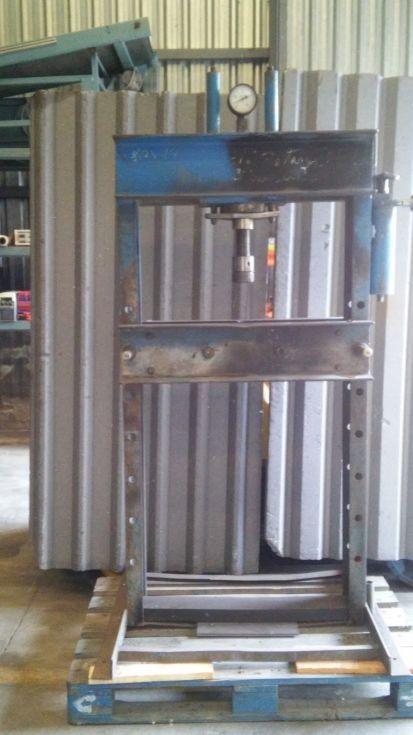 Prensa hidráulica de taller