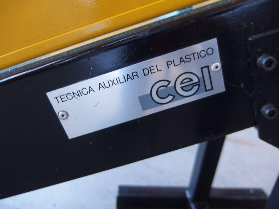 Cinta transportadora plana 1500x300 mm.