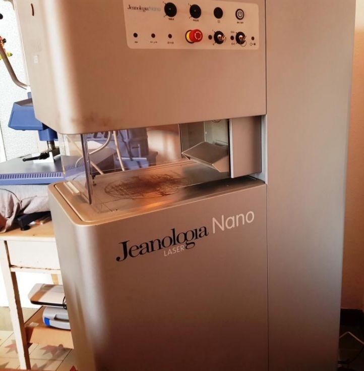 Maquina nanoláser CO2 para prendas