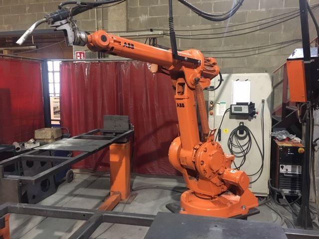 Robot sodadura