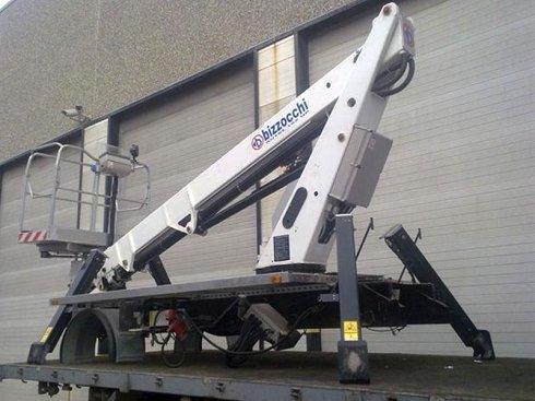 Plataforma telescópica Bizzochi Autel 162