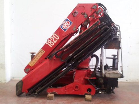 Grúa HMF 1820 K4