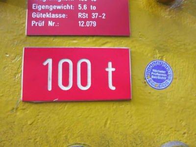 KLÖCKNER Crane Traverse 100 to