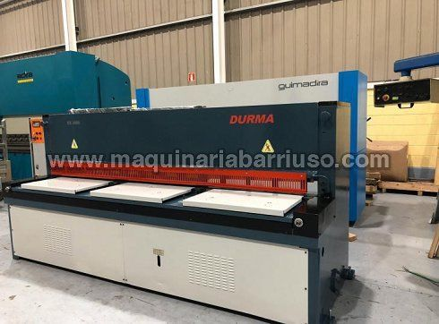 Cizalla DURMA Mod. ES3006 de 3050 x 6 mm