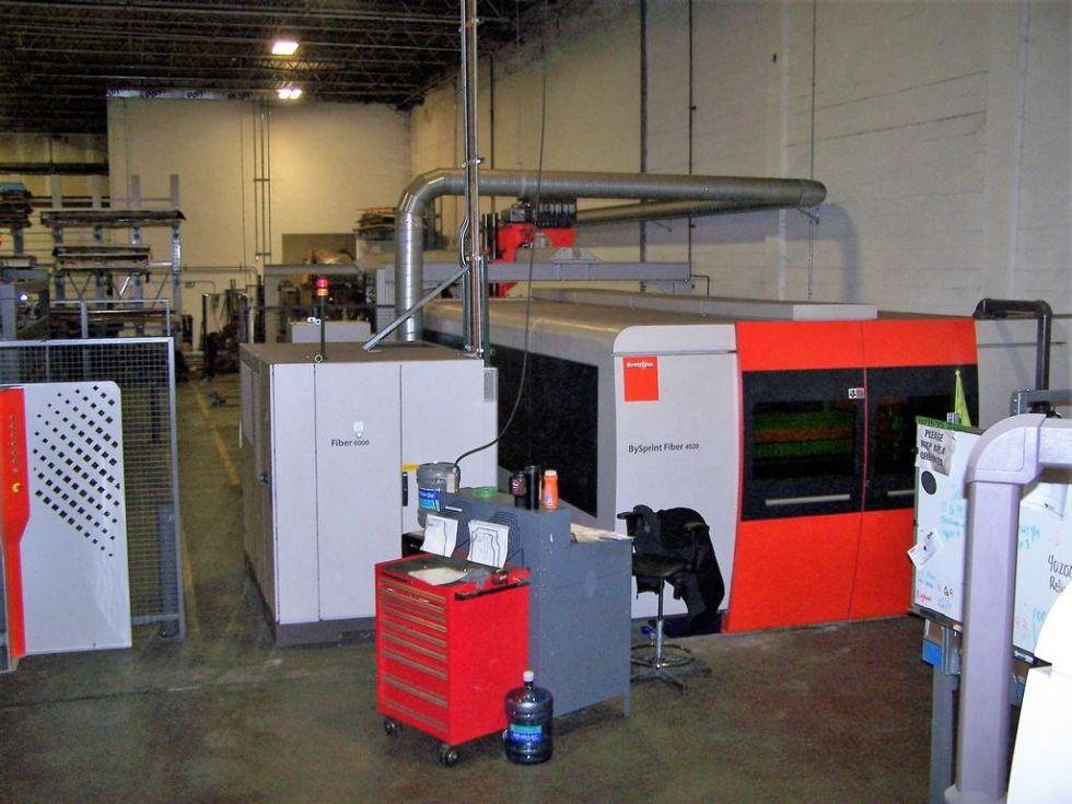 CNC láser de fibra