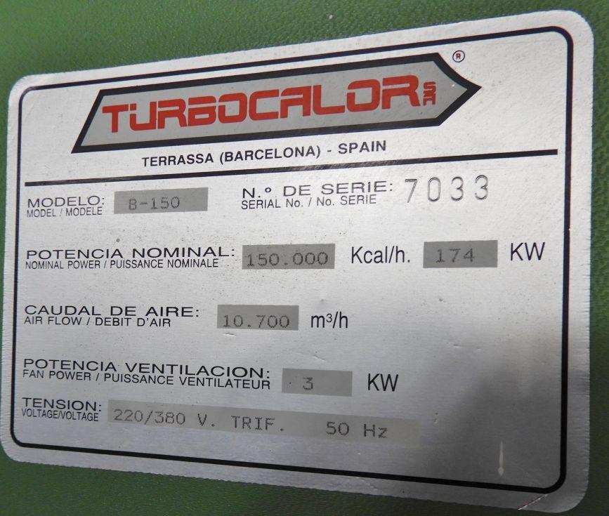 Generador de aire caliente