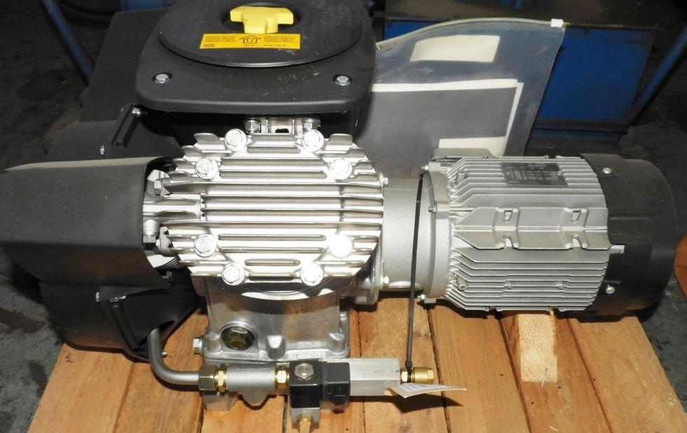 Cabezal de compresor de pistón de dos etapas