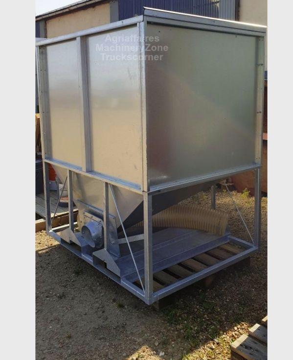 Contenedor de almacenamiento de granos y lotes