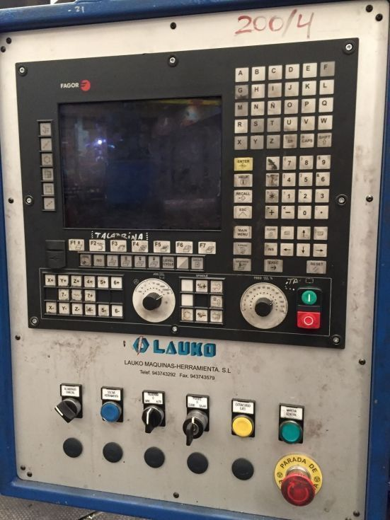 Taladro CNC / fresadora