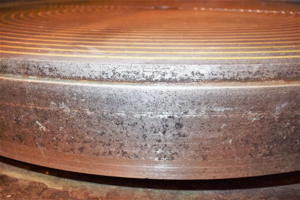 Amoladora giratoria de superficie