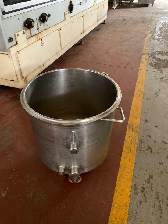 Deposito acero inoxidable 160 litros de segunda mano