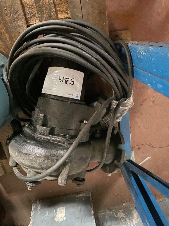 Bomba de motor sumergible abs afp1041.1 m30-4 de segunda mano