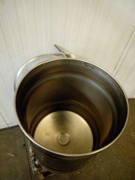 Depósito/Barril en Inox 15 / 353 Capacidad ±60 Litros