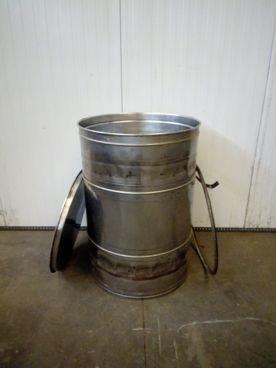 Depósito/Barril en Inox 15 / 524 Capacidad ±350 Litros