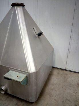Depósito/Tolva en Inox 15 / 620 1.500 Litros de Capacidad