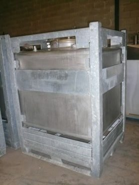 Depósito en Inox 15 / 720 Capacidad ±1.000 Litros
