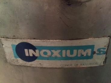 Depósito en Inox Con Doble Fondo 15 / 748 de 130 Litros