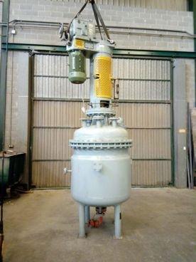 Reactor Con Doble Fondo y Presion