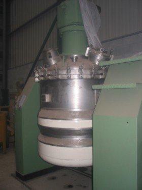 Reactor Inox Con Doble Fondo y Presion 17 / 152