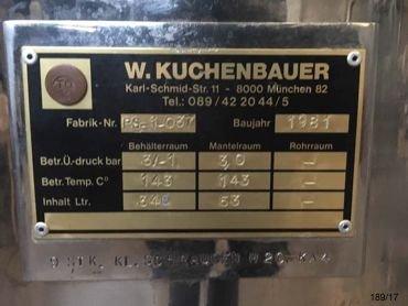 Reactor Inox Con Doble Fondo y Presion 17 / 189