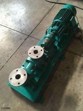 Motor Bomba Helicoidal 58B / 112 en Inoxidable