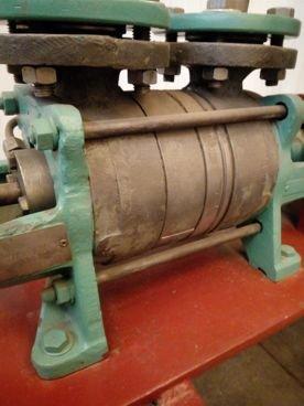 Bomba de Vacío en Inox 60 / 107 de Anillo Liquido en Inox