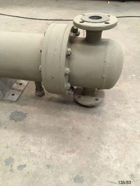 Intercambiador de Tubos 83/ 135 44 Tubos