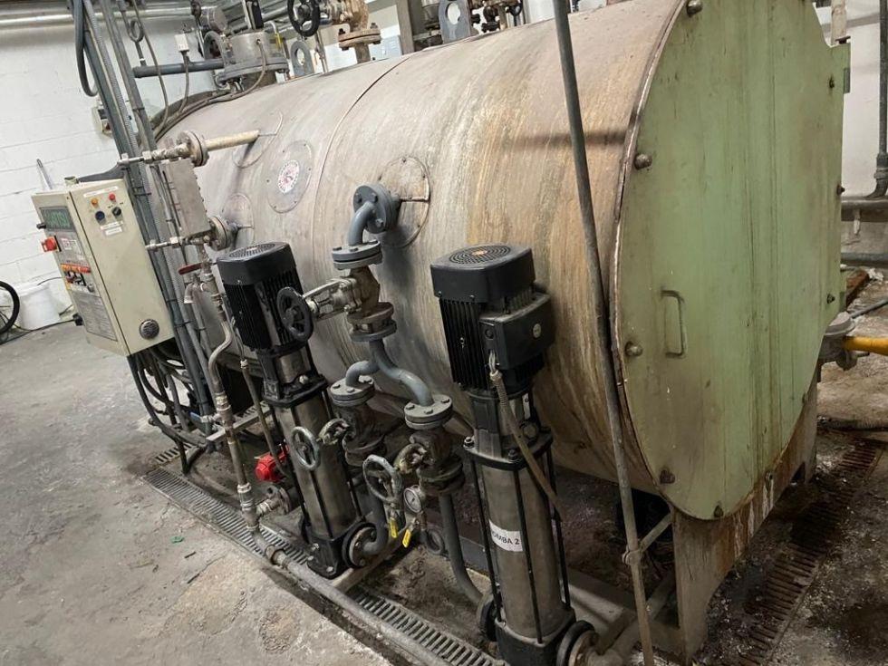 Caldera de vapor attsu rl-1000-12 de segunda mano