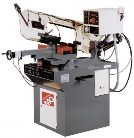 Sierra de cinta semiautomática para acero