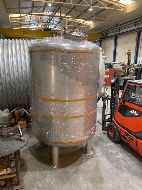 Deposito acero inoxidable 316l 5000 litros con brida agitacion nuevo