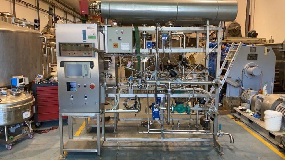 Bioreactor diessel gmbh acero inoxidable 316l 1.000 litros con camisa y agitacion de segunda mano
