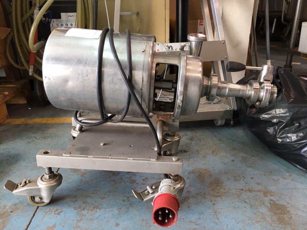 Bomba centrifuga francisco garvia acero inoxidable de segunda mano