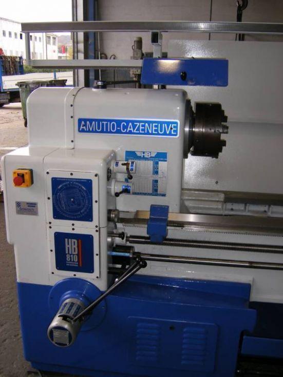 Torno Amutio Cazeneuve HB810x4000 reconstruido