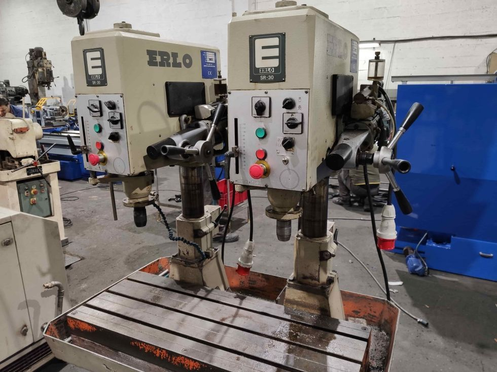 Bateria de taladros automatizados Erlo BSR-30