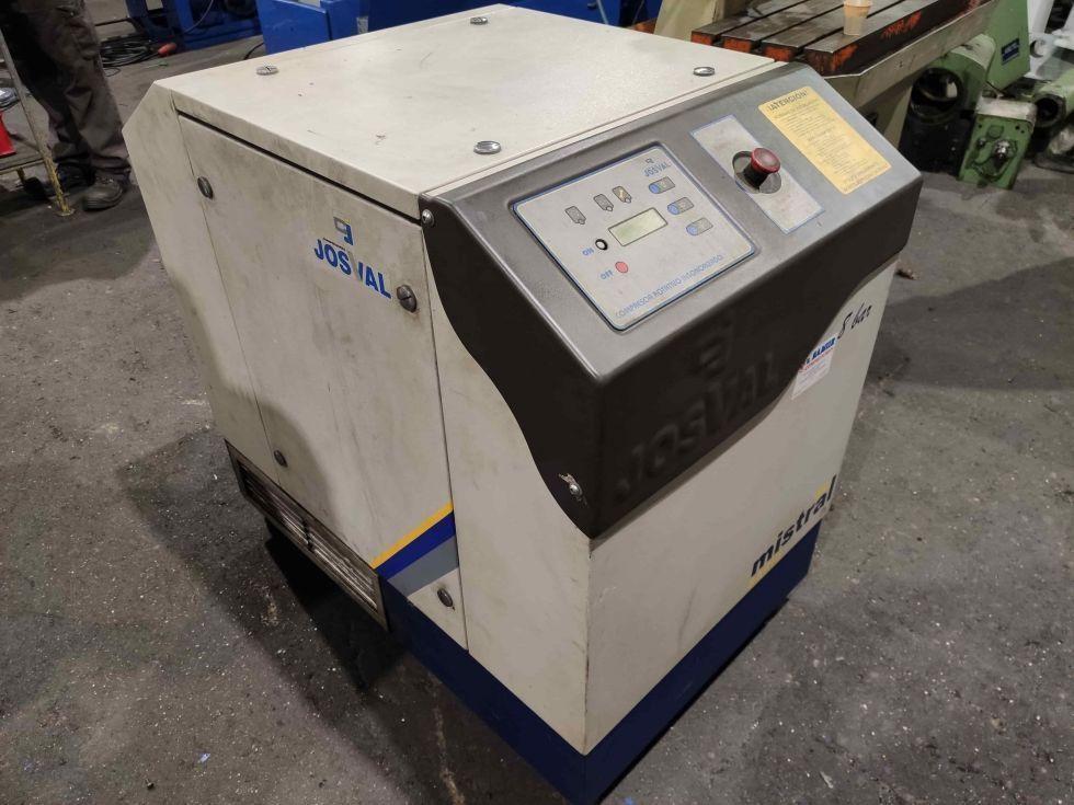 Compresor insonorizado con calderin y secador