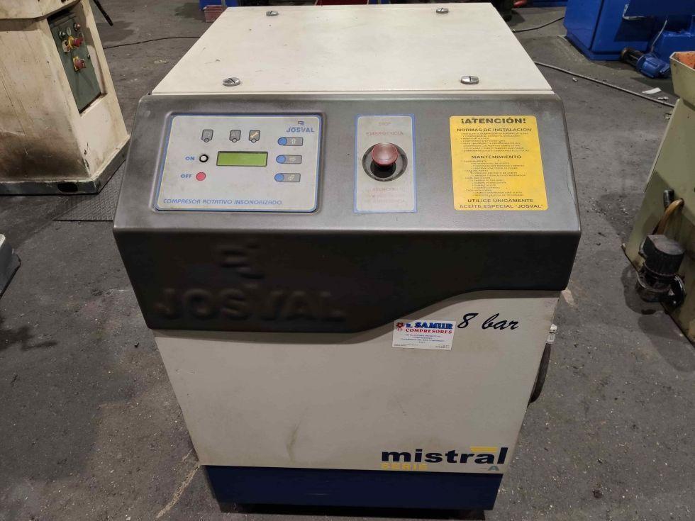 Compresor insonorizado con secador