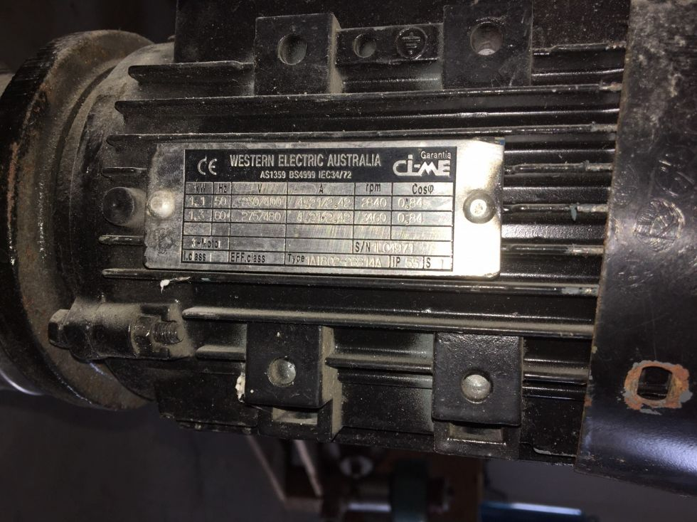 Bomba centrifuga nocchi vlr 2b-110 de segunda mano