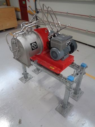 Centrifuga decantadora siebtechnik sbd140 sin uso