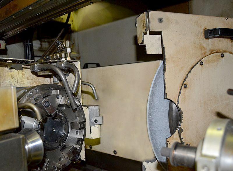 Rectificadora de producción para el rectificado simultaneo interior e exterior