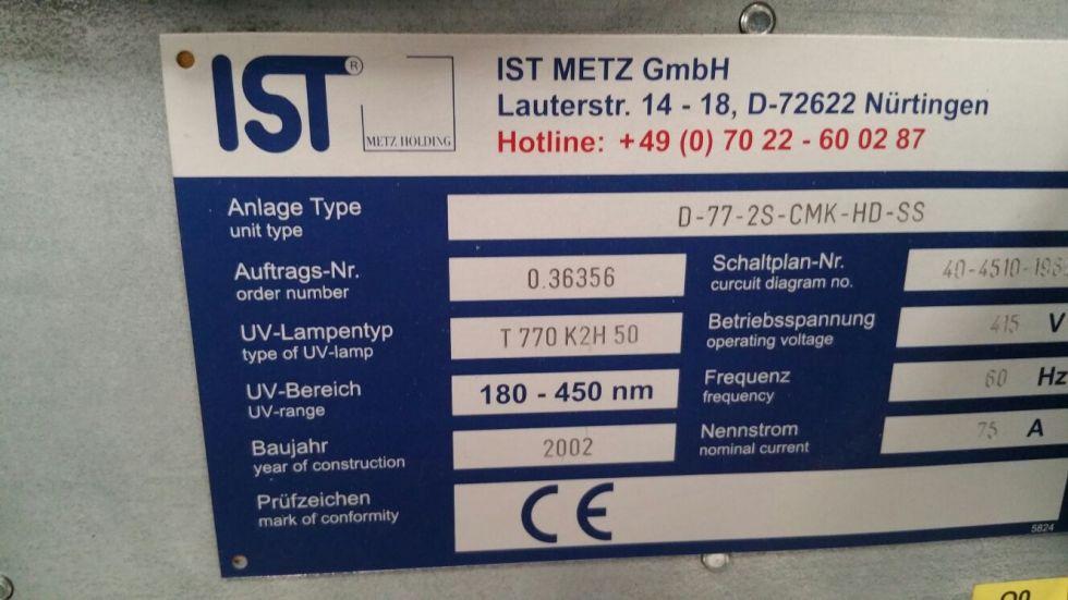 Secado uv speedmaster 74