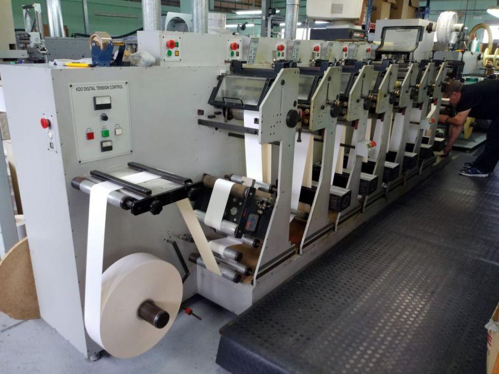 Máquina de etiquetas KDO 270 Flexo Plus 2
