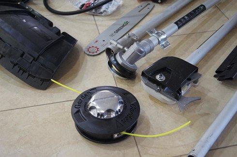 Desbrozadora Mochila de Gasolina de 65cc 4,9Cv