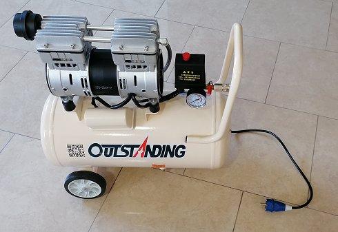 Compresor Aire Silencioso 30Litros 750W (Nuevo)