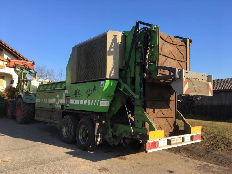 Triturador de podas y biomasa