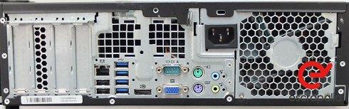 SIN RESERVA. ENVÍO INCLUIDO. Ordenador HP 8200 sff con procesador i7, 4gb de Ram y 250Gb de HDD LOTE 1