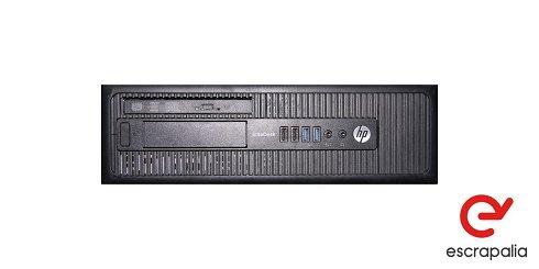 ENVÍO INCLUIDO. Ordenador HP Elitedesk 800 G1 SFF con i7-4770, 8Gb de Ram y 500Gb de HDD. LOTE 1