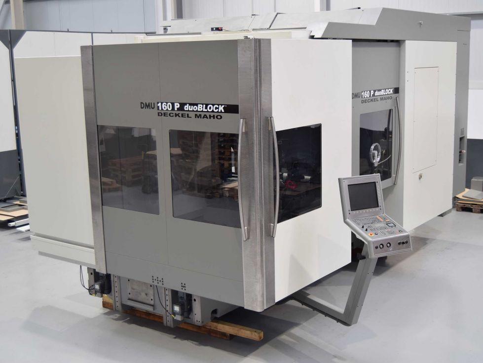 Centro de Mecanizado 5 Ejes DMG DMU 160P Duoblock