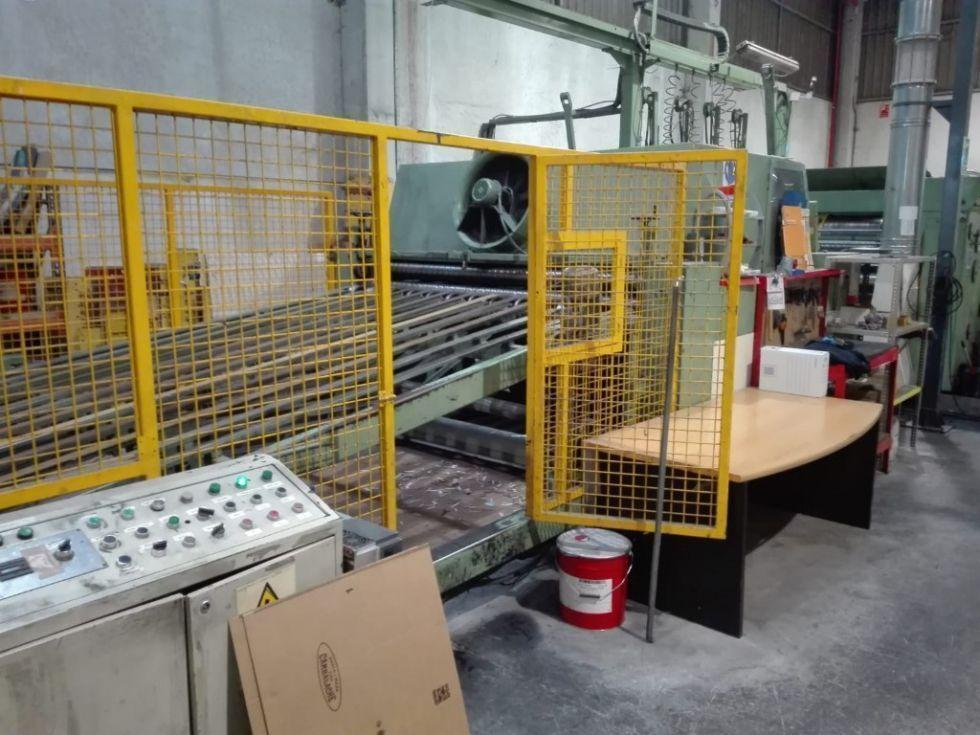 Troqueladora automática rotativa